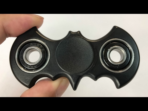 Batman Fidget Spinner Anxiety Stress Reliever Toy review and giveaway