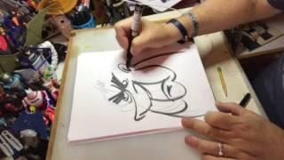 How to draw a cartoon of Richard Nixon!