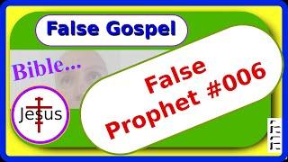Gambar cover False Prophet 006 - Brenda Weltner