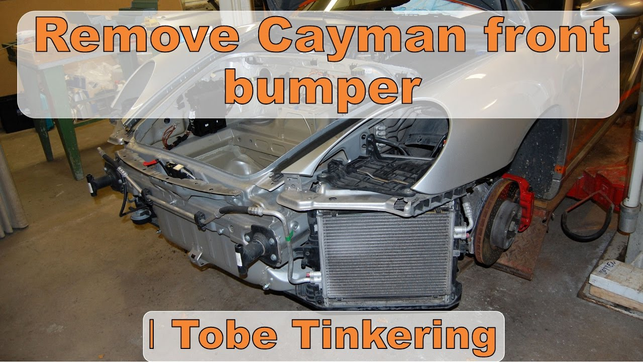 Front Bumper Removal On Porsche Cayman Tinkering Engine Diagram