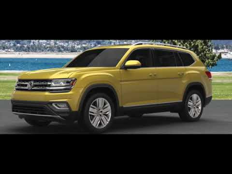 What Colors Does the Volkswagen Atlas Come In?