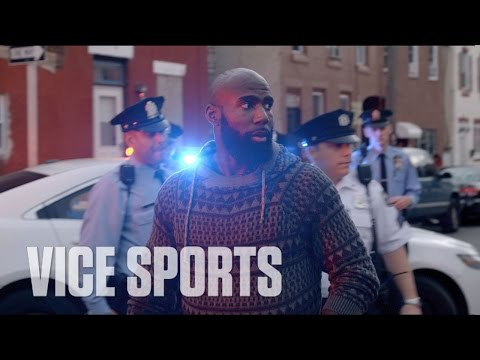 Malcolm Jenkins Goes On A Ride Along With Philly PD