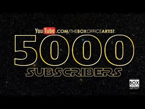 BoxOfficeArtist 2015 Year in Review - 5000 Subscriber Special & 2016 Preview!