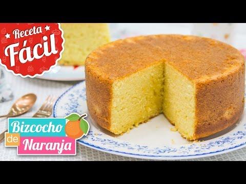 Bizcocho de Naranja DELICIOSO   Receta fácil   Quiero Cupcakes!