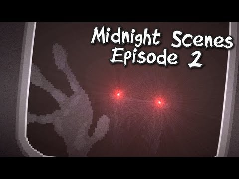 """Midnight Scenes Episode 2 """" The Goodbye Note """"- Twilight Zone Style Horror, Manly Let's Play"""