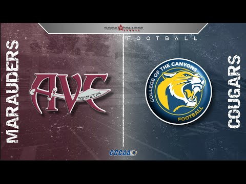SCFA Football: Antelope Valley College at College of the Canyons - 9/4/21 - 6pm