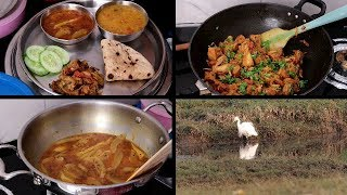 INDIAN SIMPLE DINNER ROUTINE | Summer Special Dinner | Kathal ki sabzi/ launji | Indian Dinner VLOG