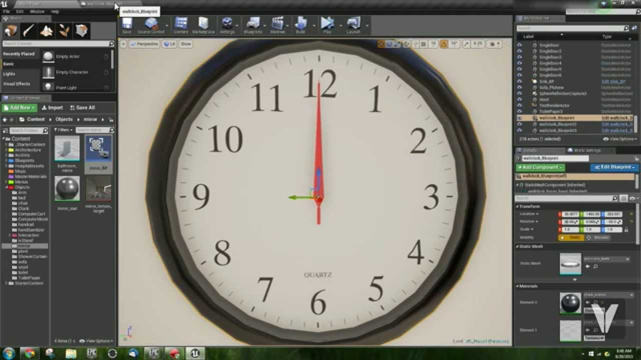 Unreal 4 analog clock tutorial youtube unreal 4 analog clock tutorial malvernweather Gallery