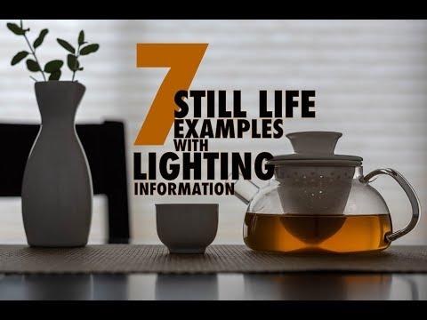 SEVEN STILL LIFE PHOTOGRAPHS DECONSTRUCTED