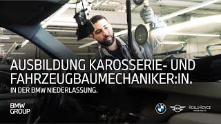 Ausbildung zum Karosserie- und Fahrzeugbaumechaniker (w/m/x) | BMW Group Careers.