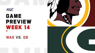 Washington Redskins vs Green Bay Packers Week 14 NFL Game Preview