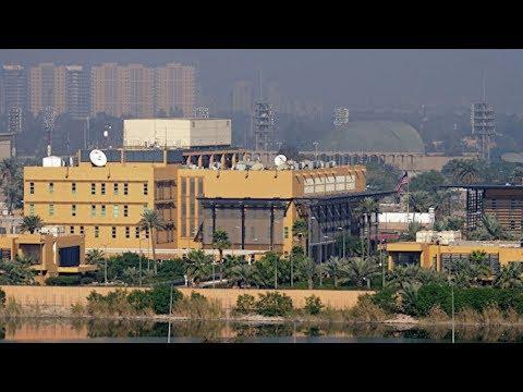На территории посольства США в Багдаде упали несколько ракет