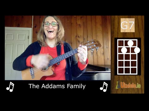 Addams Family Ukulele by 21 Songs in 6 Days: Learn Ukulele the Easy Way
