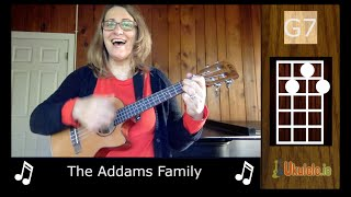 Addams Family Ukulele by 21 Songs in 6 Days: Learn Ukulele the Easy Way