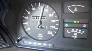 acceleratie bmw 524 td intercooler, turbo@0,85 bar