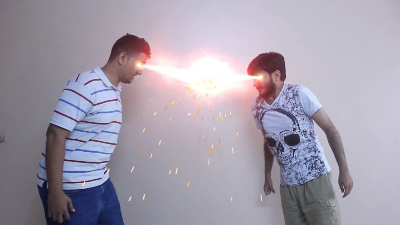 After effects laser beam