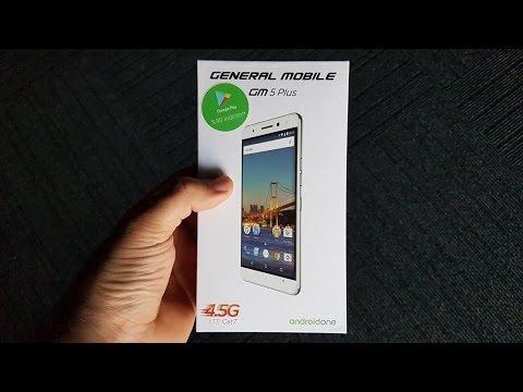 General Mobile GM5 Plus Kutu Açılımı