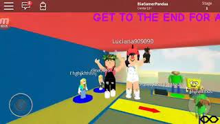Challenge of who arrives faster wins (ROBLOX)-BIA GAMES
