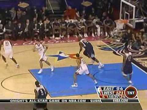 Tracy McGrady perfect move Nba All Star 2007