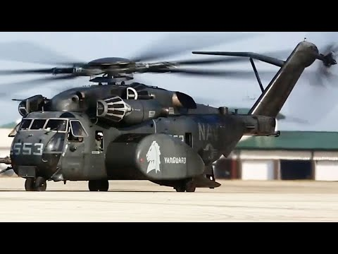 CH-53E Super Stallions and MH-53E Sea Dragon - Largest Military Helicopter