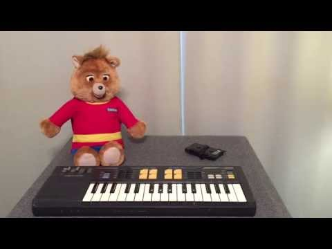 How to animate Teddy Ruxpin with a Casio Keyboard
