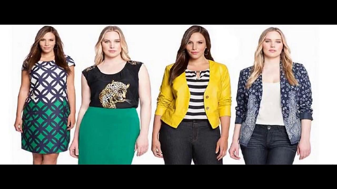 c0c9a648006 Moda en tallas grandes para mujer - Ropa de mujer talla grande - YouTube