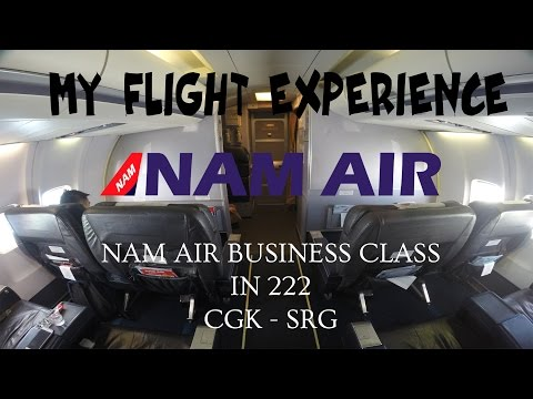 MY FLIGHT EXPERIENCE (FLIGHT REPORT) - E22 - SRIWIJAYA AIR BUSINESS CLASS | CGK - SRG