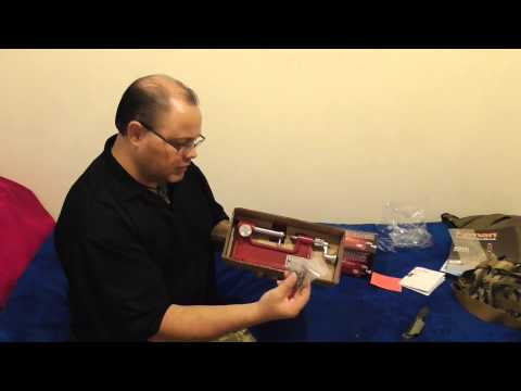 Hornady Cam Lock Trimmer Unboxing