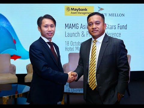 Maybank:The launch of  MAMG Asia Rising Stars fund