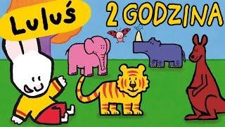 2 godzina Luluś - Narysuj mi zoologiczny | Kompilacja #4 HD // Kreskówki dla dzieci