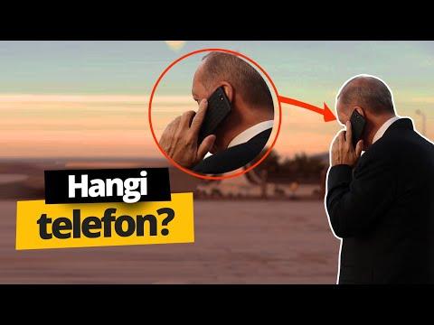 Cumhurbaşkanı Recep Tayyip Erdoğan cep telefonu!
