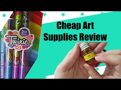 SHOCKED!!!! By Dollar Store Art Supplies!!!! ~ What Are Ink Paints????