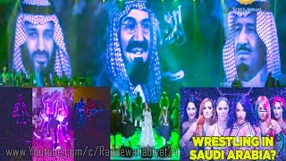 Saudi Arabia me Eid Hip hop Dance in Mecca | Ahlam Nohnt Live show in Jeddah | WWE Women's in Saudi