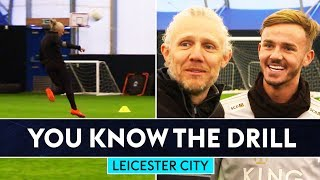 James Maddison & Jimmy Bullard v Hamza Choudhury & Demarai Gray | Leicester City You Know The Drill