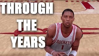 Tracy McGrady Through the Years - NBA Live 98 - NBA 2K13