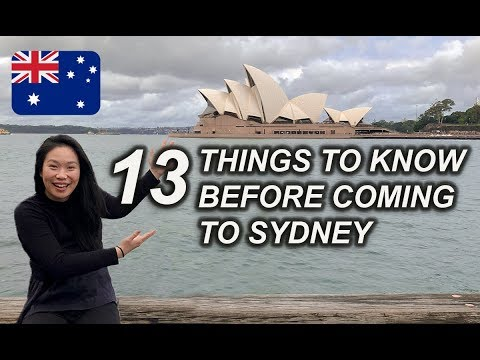 13 THINGS TO KNOW BEFORE COMING TO SYDNEY AUSTRALIA | SYDNEY TRAVEL GUIDE 2020