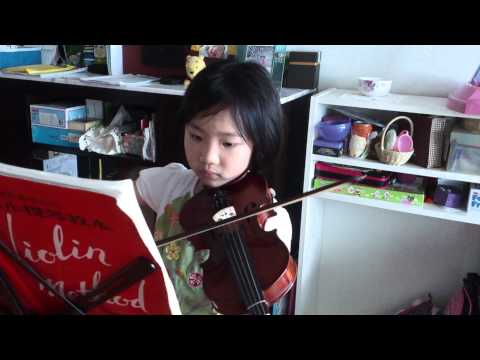 Sakura violin play by Sophia