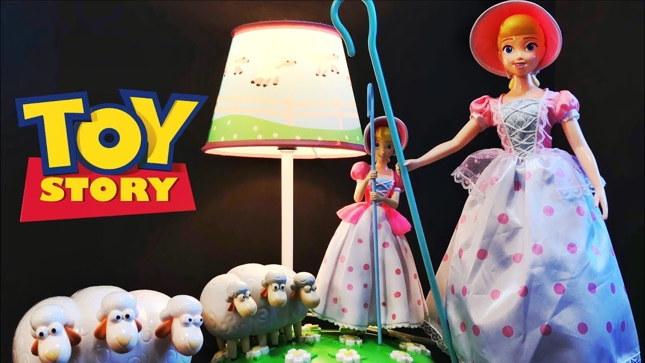 Toy Story Bo Peep Lamp Review Youtube