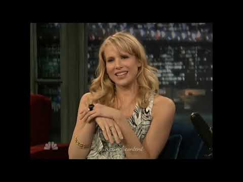 Lucy Punch  on The Late  with Jimmy Fallon