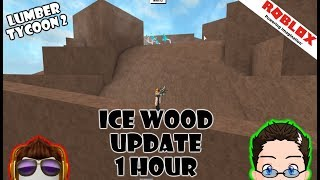 Roblox - Lumber Tycoon 2 - ICE TREE UPDATE!