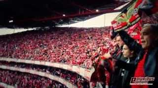 Repeat youtube video MÁGICO!! - Hino do Benfica - Benfica Olhanense (2013/2014)