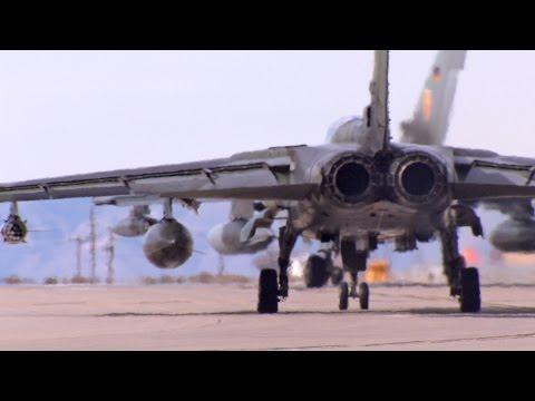Bundeswehrsoldaten in Holloman : Pilotenausbildung auf dem Tornado