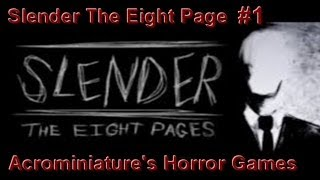 Slender the eight page : J