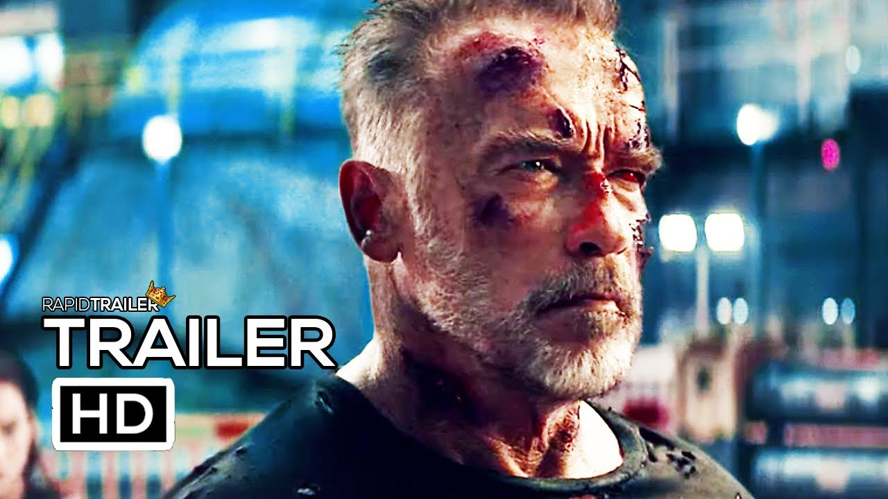 TERMINATOR 6: DARK FATE Final Trailer (2019) Arnold Schwarzenegger, Linda Hamilton Movie HD