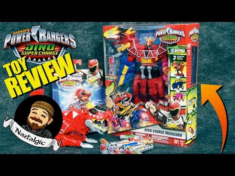 Power Rangers Super Dino Charge Megazord  Review