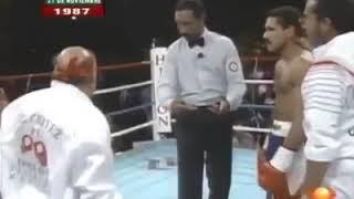 JULIO CESAR CHAVEZ VS. EDWIN CHAPO ROSARIO 21 de diciembre de 1987