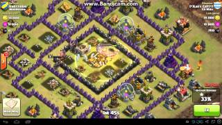 Clash of Clans - TH9 vs TH9 - Golem, Valkyrie, Wizard, Healer & Wallbreaker