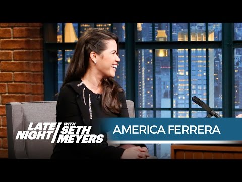 America Ferrera's Crazy Vegas Trip with the Cast of Superstore - Late Night with Seth Meyers