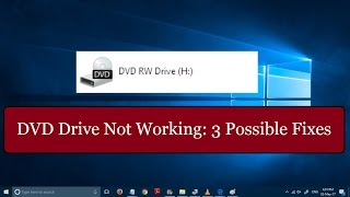 Video Fix: DVD Drive not working in windows 10 [3 SIMPLE METHODS] download MP3, 3GP, MP4, WEBM, AVI, FLV Agustus 2018