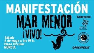 Andrés Pedreño: Apoyo a la manifestación por un #MarMenorVivo